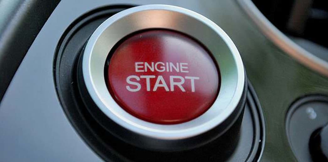 Red Engine Start button