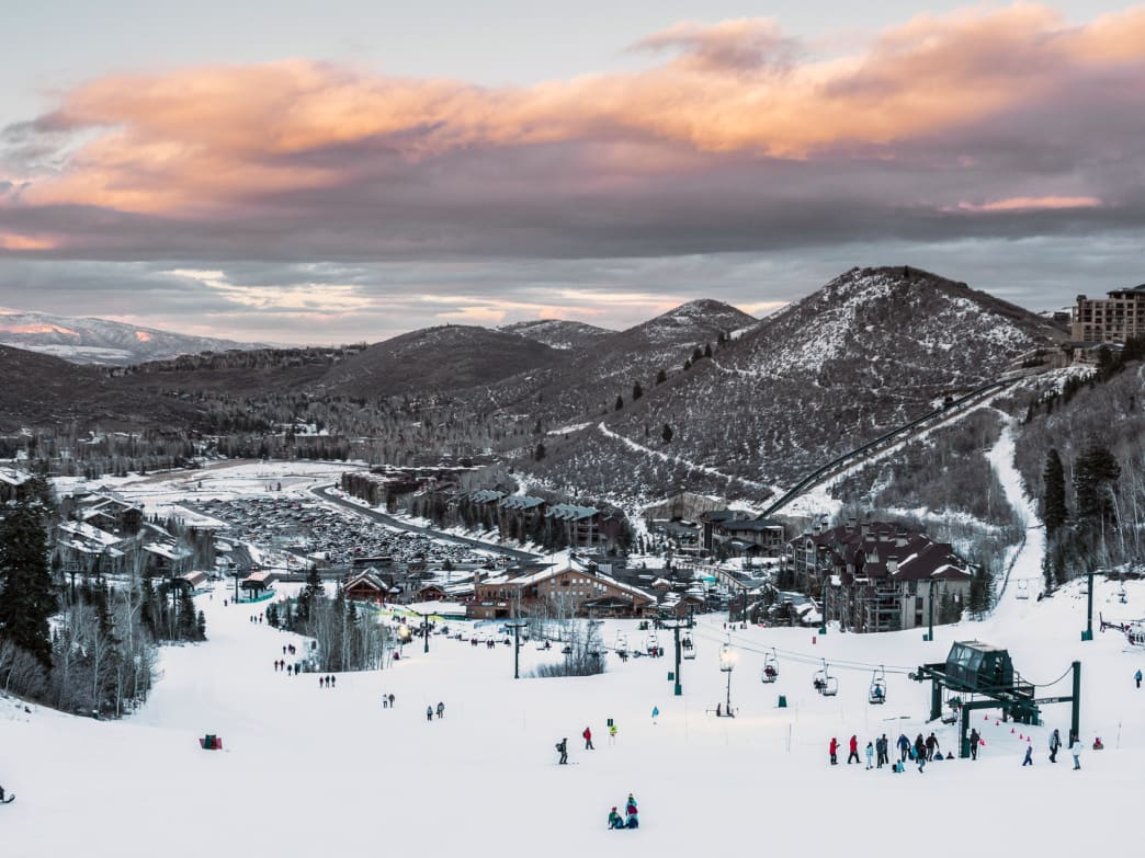 Deer Valley is just one of many surprisingly eco-friendly ski resorts across the country.