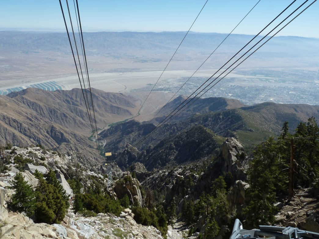 Palm Springs Aerial Tramway.
