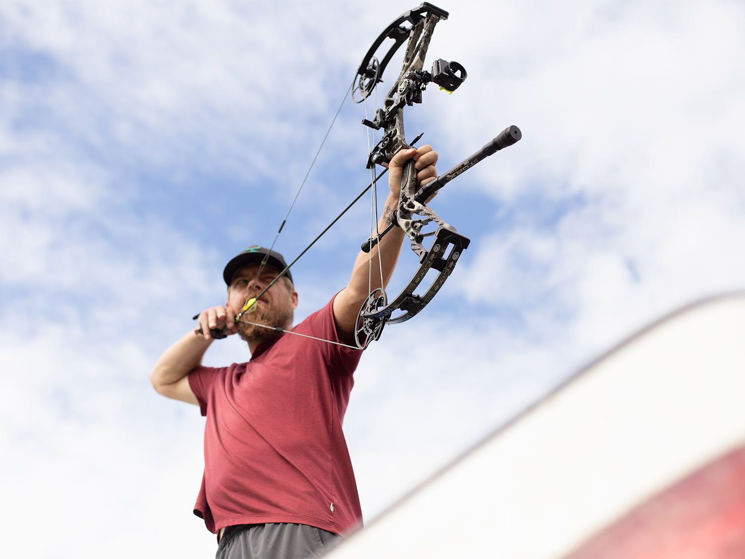 When you're shopping for a bow, it helps to shoot a lot of different brands.